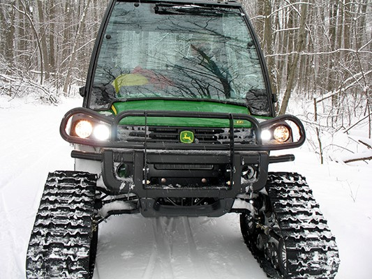 New John Deer Gator in action on the Purple Trail