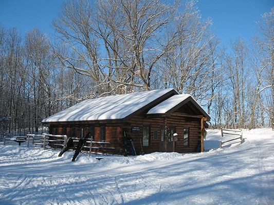 Greenbush Recreational Shelter,  built & paid for by the Ski Club
